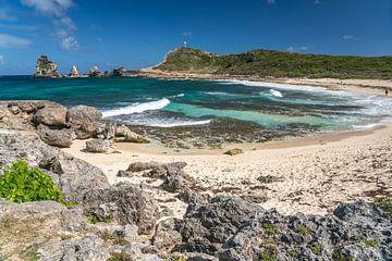 Pointe des Chateaux, Guadeloupe van Peter Schickert