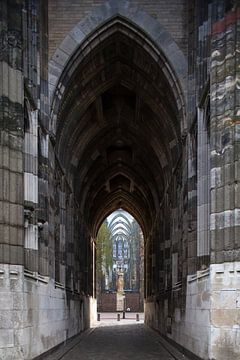 De doorgang onder de domtoren in Utrecht. One2expose Wout Kok Photography van Wout Kok