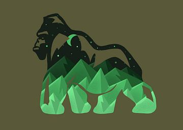 Gorilla von Minca de Jong