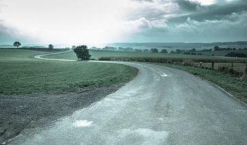 Curvy Road von Maarten De Wispelaere
