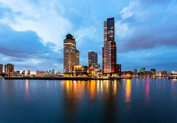 Rotterdam Cityscape von Peet de Rouw