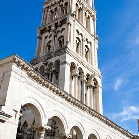 Toren van Split in Kroatië von Sander Meijering