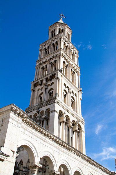 Toren van Split in Kroatië van Sander Meijering