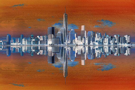 10. city-art, NY, Manhattan 3 van Alies werk