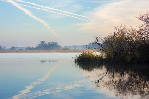 Een prachtige ochtend aan het water in De Wieden