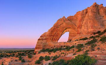 White Mesa Arch, Arizona, Vereinigte Staaten von Henk Meijer Photography