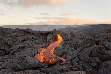 Lavastrom auf Hawaii von Ralf Lehmann