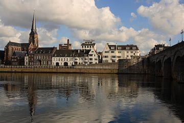 Skyline Maastricht van Edwin Martens