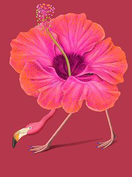 Flamingo Go! van Rudy & Gisela Schlechter