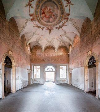 Fresque au Palais Abandonné. sur Roman Robroek