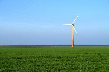 Moderne windmolen - windturbine van
