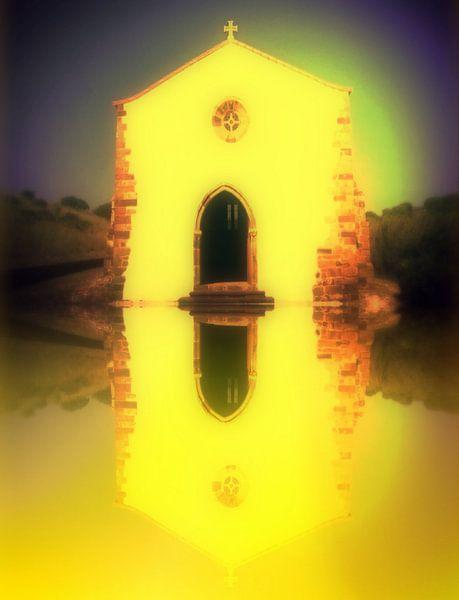 Portugal. Capela de Nossa Senhora de Guadalupe (Raposeira)