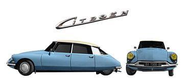 Citroën ID 19 in Originalfarbe von aRi F. Huber