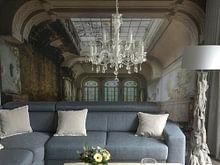 Klantfoto: Decay hotel van Truus Nijland, als behang