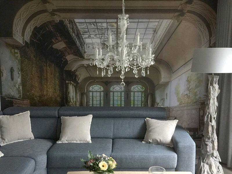 Kundenfoto: Decay hotel von Truus Nijland, auf fototapete