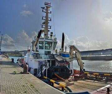Sleepboot IJmuiden 2 haven van Gerard de Ridder
