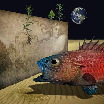 En er is leven op andere planeten. van Erich Krätschmer