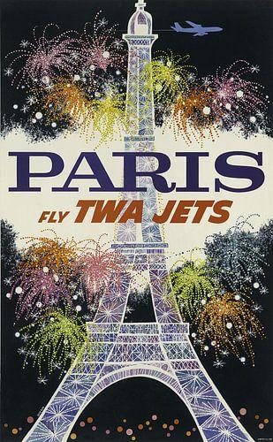 Parijs reisposter