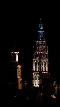 Skyline Breda - Grote Kerk van I Love Breda