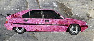 Citroën BX Art Car in roze