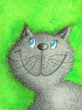Katze Lina von Atelier BuntePunkt