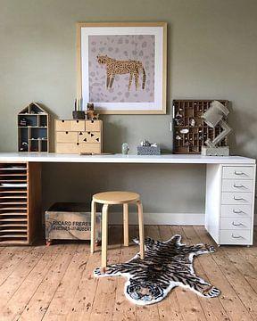 Kundenfoto: LEOPARD PRINT, luipaard print von Laura Knüwer