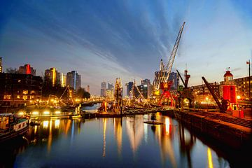 Rotterdam Leuvehaven van Fotografie Arthur van Leeuwen