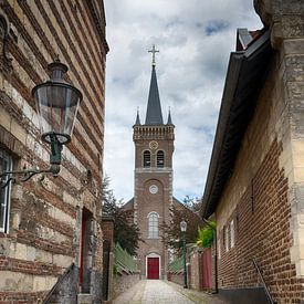 Kirche in Elsloo von Mark Bolijn