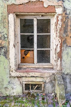 Oud belgisch raam van Willem Visser