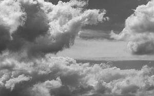 Dutch skies - Nederlandse lucht zwart wit van
