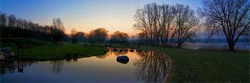 Schöner Morgen am See von Frank Amez