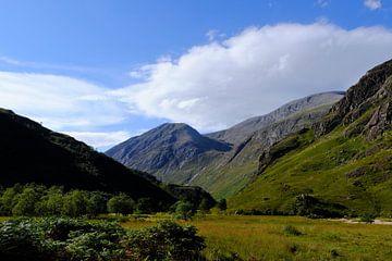 Schotland, Highlands, een dal bij de Ben Nevis van Marian Klerx