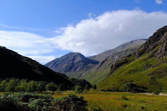 Schotland, Highlands, een dal bij de Ben Nevis