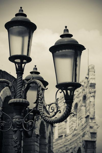 Some lamppost at Verona