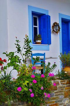 Griekse straatbeeld von Marcel  Brinks