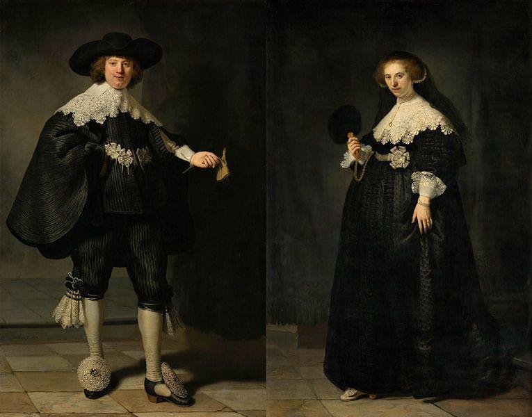 Marten en Oopjen Rembrandt van Rijn van Marieke de Koning