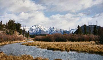 Het landschap van de berg Girouard van Graham Forrester
