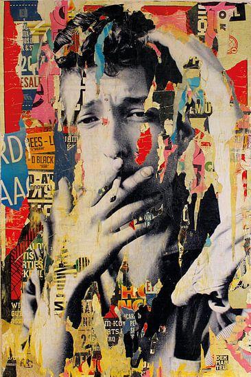 Bob Dylan von Michiel Folkers