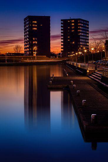 Skyline Veenendaal 2 van Joram Janssen