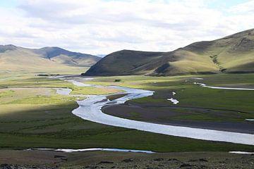 Tal des Orchon Gol, Mongolei von Marvelli