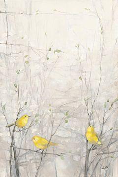 Oiseaux dans les arbres I, Julia Purinton