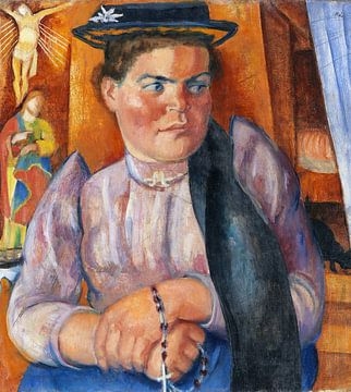 Tiroler Bäuerin, Anita Rée, 1921 von Atelier Liesjes