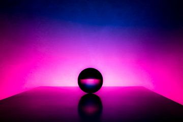 Kristallen bol - afgrond van Sven Van Santvliet