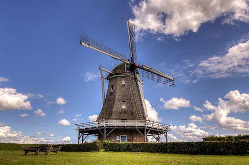 Windmolen D'Olde Zwarver in Kampen