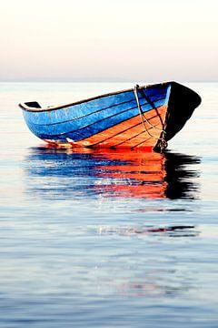 blau-rotes Boot von Jana Behr