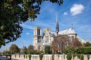 Parijs, kathedraal Notre-Dame van Arie Storm