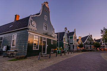 La rampe de Zaanse dans la lumière du matin sur Sander Groenendijk