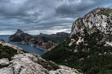 Mallorca Cap de Formentor van Werner Lerooy