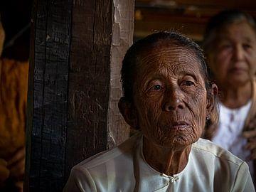 Myanmar - Inlemeer - Grootmoeder