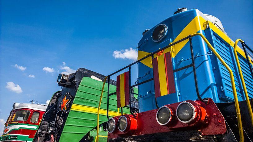 Spoorwegmuseum Brest van rosstek ®
